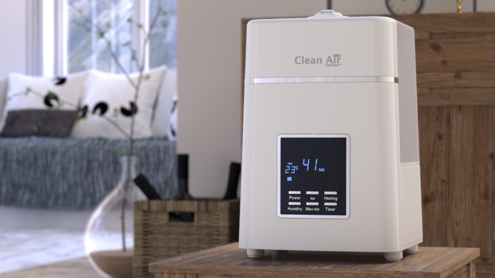 Humidificateur d´air ultrason avec ioniseur CA-604W