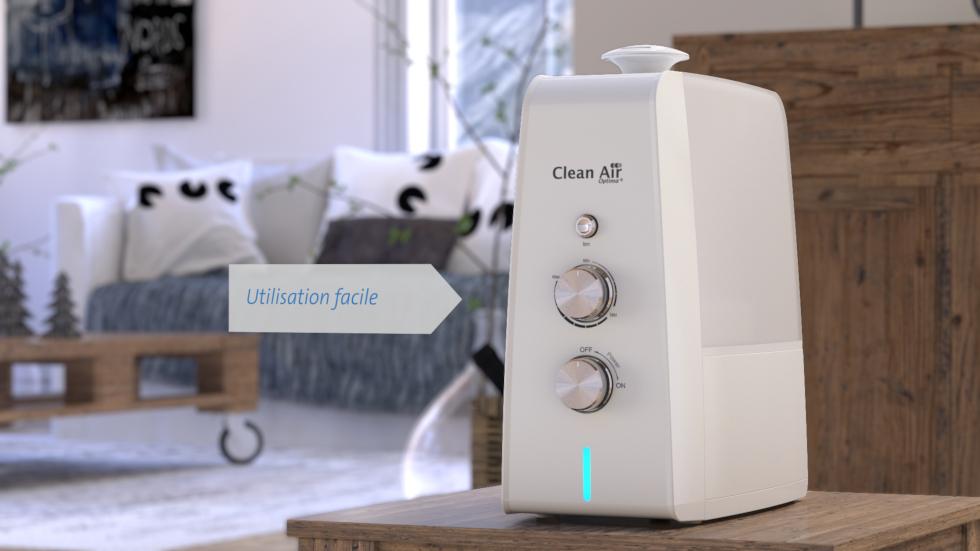 L'aromathérapie avec les huiles essentielles de Clean Air Optima
