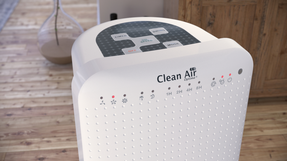 Ventilateur design unique avec ioniseur pour votre rafraîchissement durant les périodes de chaleur